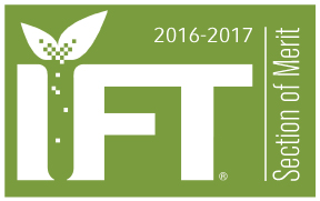 2016 - 2017 IFT Section of Merit